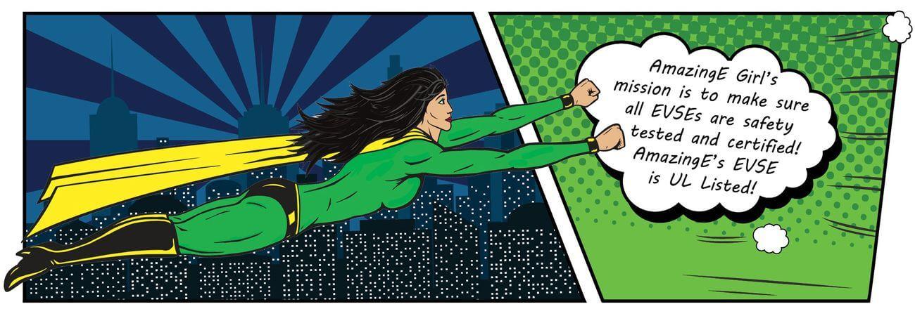 AmazingE EVSE Superhero's Mission